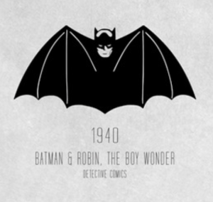 The original Batman logo.